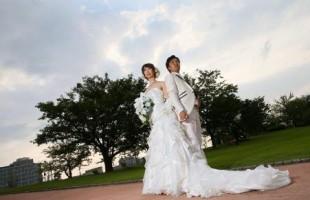 秋挙式の花嫁様♪