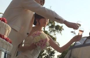 春挙式の花嫁様のお写真♪