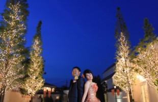 秋挙式の花嫁様